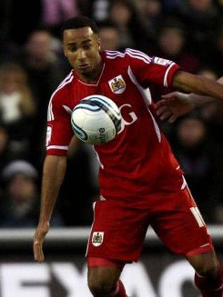 Nicky Maynard: The highly rated striker will interest several Premier League clubs next month