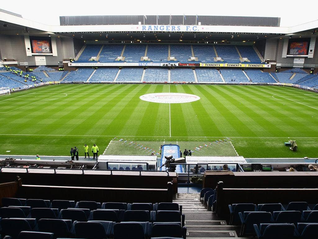 Chief operating officer Ali Russell told the Rangers' official website: 'The fans have intimated for some time their desire for a standing area within Ibrox and following the feedback we have had from fans' groups it is only right as a response that we ar