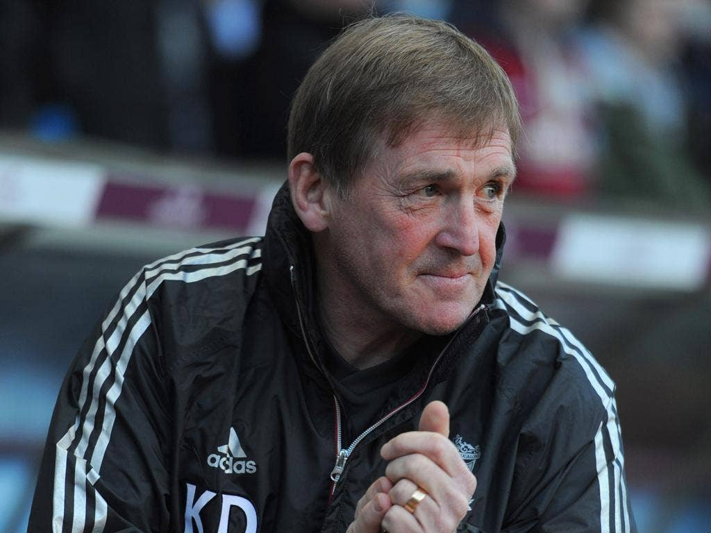 Kenny Dalglish: The Liverpool manager's tone was softer yesterday when discussing the Suarez case