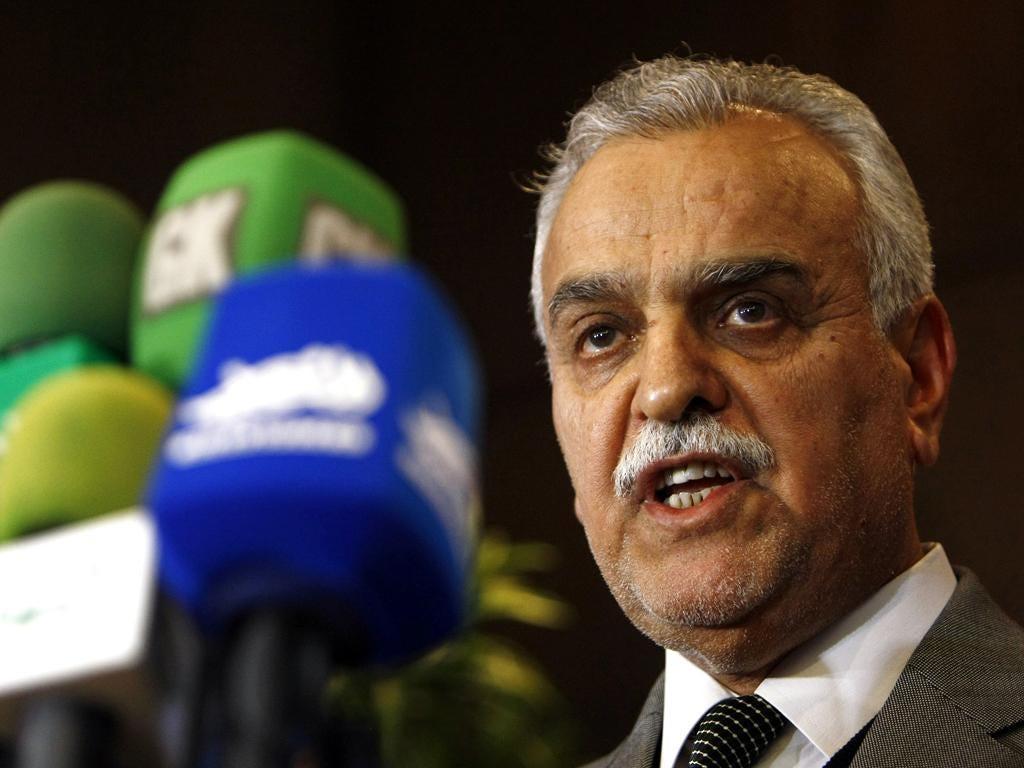 Tariq Al-Hashemi: He has accused the Prime Minister of exercising 'many of Saddam's behaviours'