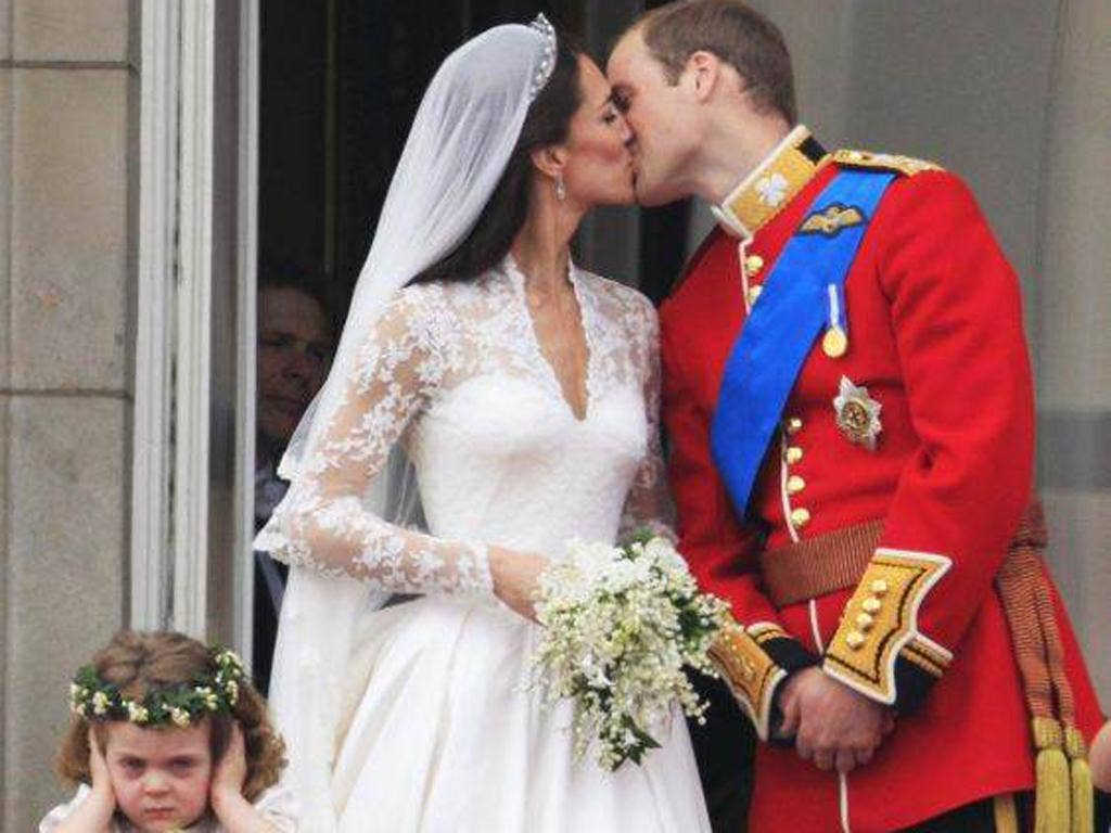 Star of the Royal Wedding in April was tiny bridesmaid Grace Van Cutsem, Prince William's goddaughter