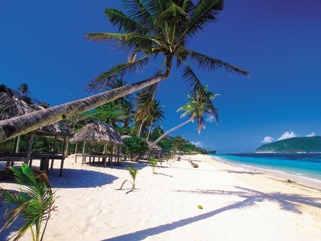 Date line Samoa: One of the idyllic beaches