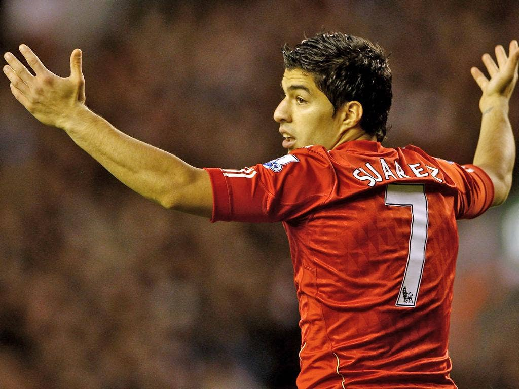 Suarez will now miss Friday's match at home to Newcastle