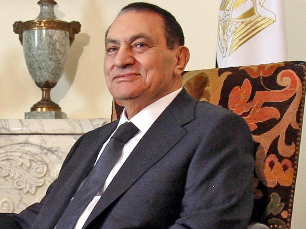 TIME SERVED: For how long did Hosni Mubarak serve as President of Egypt?