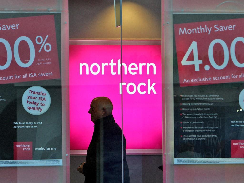MONEY MATTERS: 2. For how much was Northern Rock sold to Virgin Money?