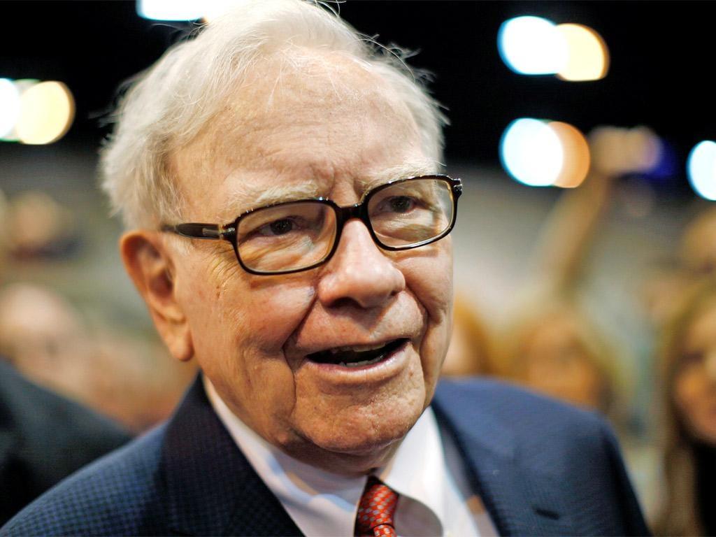 Investment guru Warren Buffett