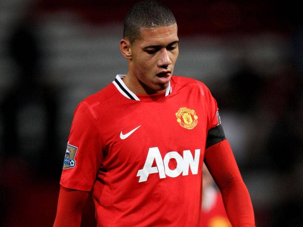 Chris Smalling is suffering from tonsillitis