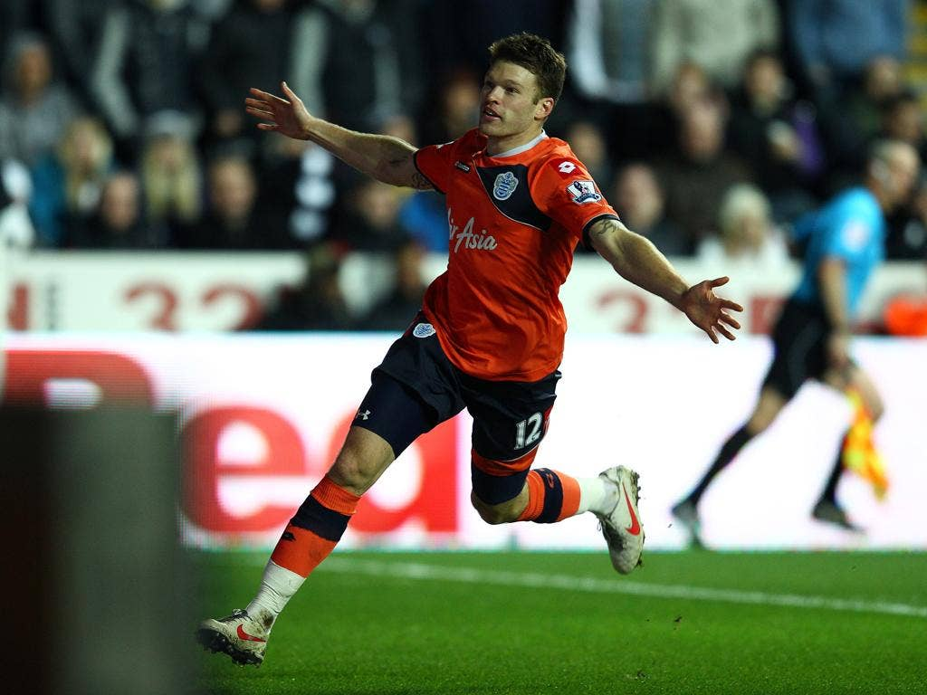 Jamie Mackie's equaliser was only the third goal that Swansea have conceded at home all season