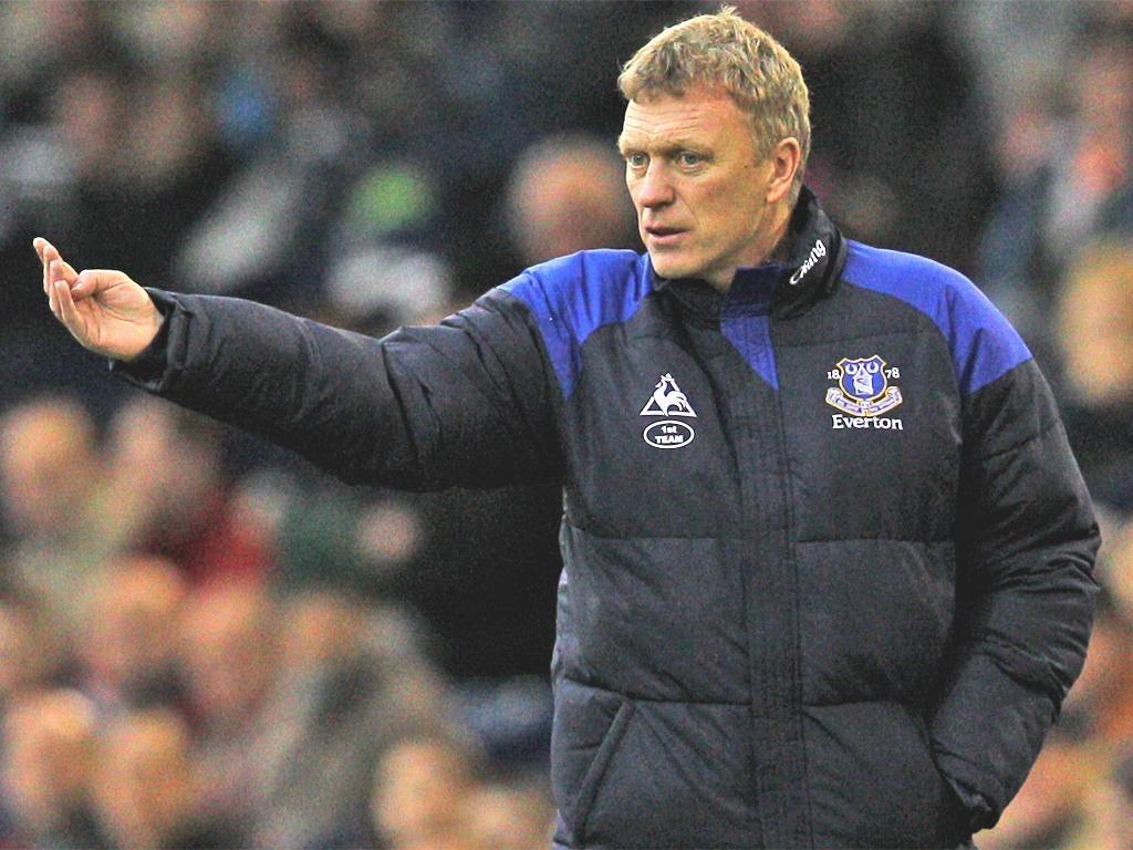 David Moyes expects Everton to finish the season strongly