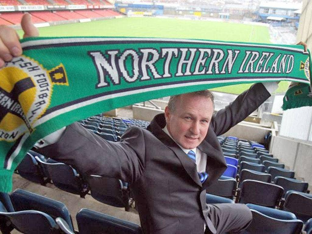 Northern Ireland's Michael O'Neill is determined to make a fresh start by addressing the talent drain to the Republic of Ireland