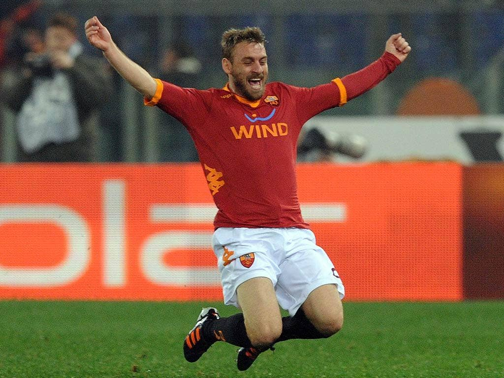 Daniele de Rossi has been heavily linked with a switch to Manchester City