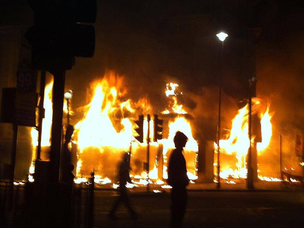 Looting in the London riots of 2011 was as much about social exclusion as need