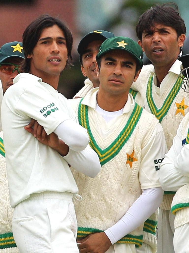 Mohammad Amir, Salman Butt and Mohammad Asif are all serving time, having been found guilty of fixing