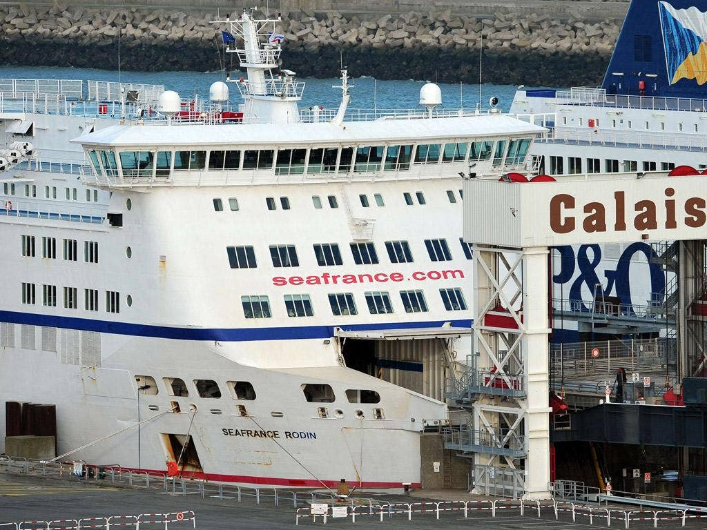 Sea France is one of just two ferry lines operating between Calais and Dover
