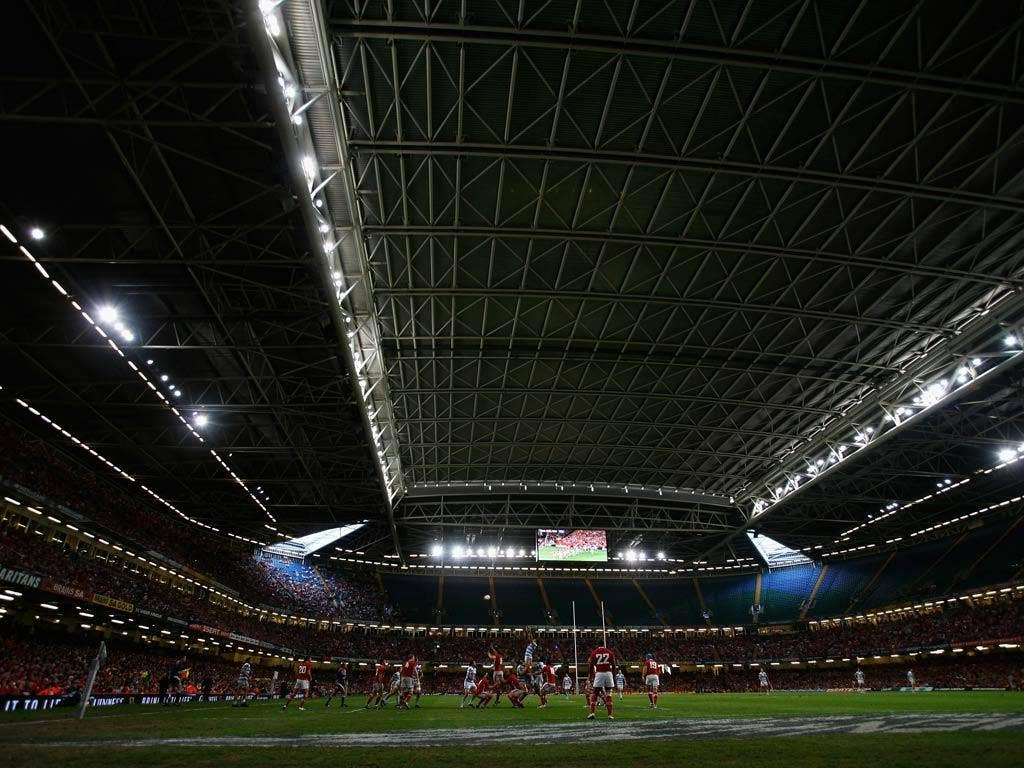 The Millennium Stadium could host Wales' games
