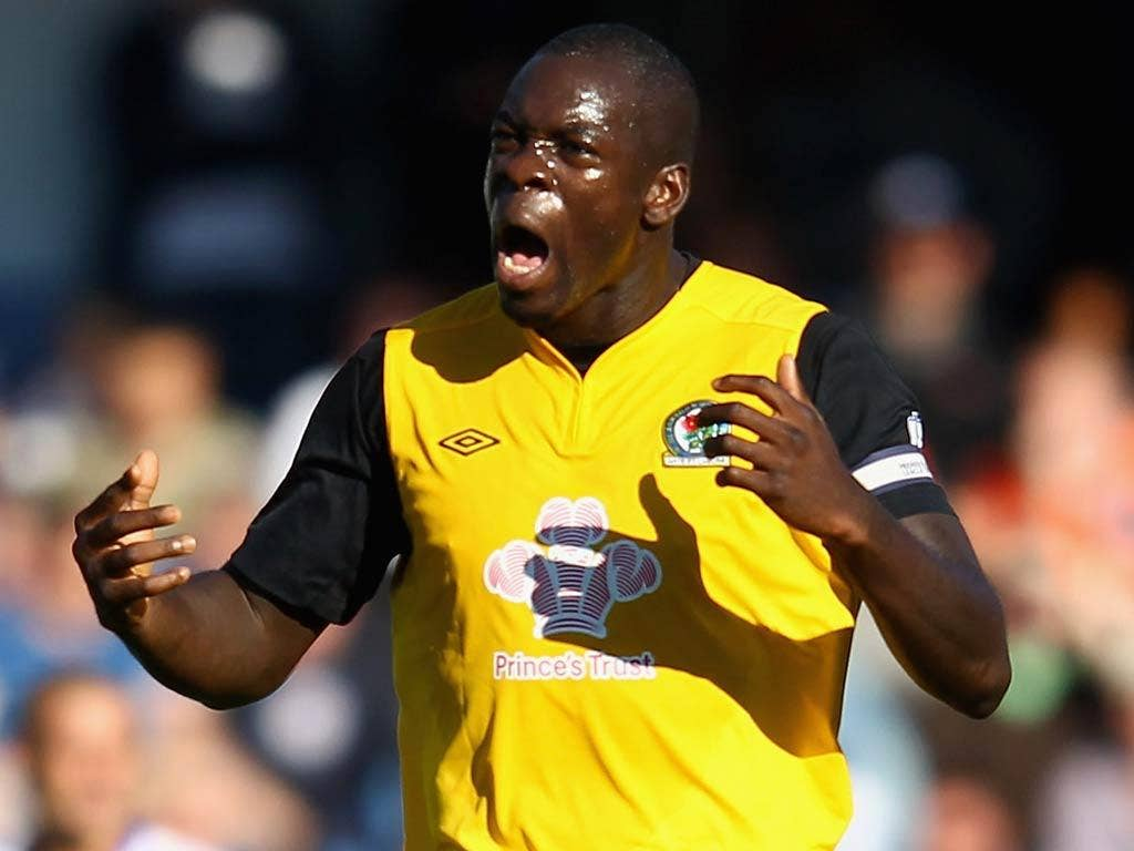 <b>Chris Samba</b><br/> While Blackburn struggle this season both on and off the pitch, one of the few positives at Ewood Park has been the performances of central defender Chris Samba. The Congolese has been a rock at the back for Rovers and is easily Bl