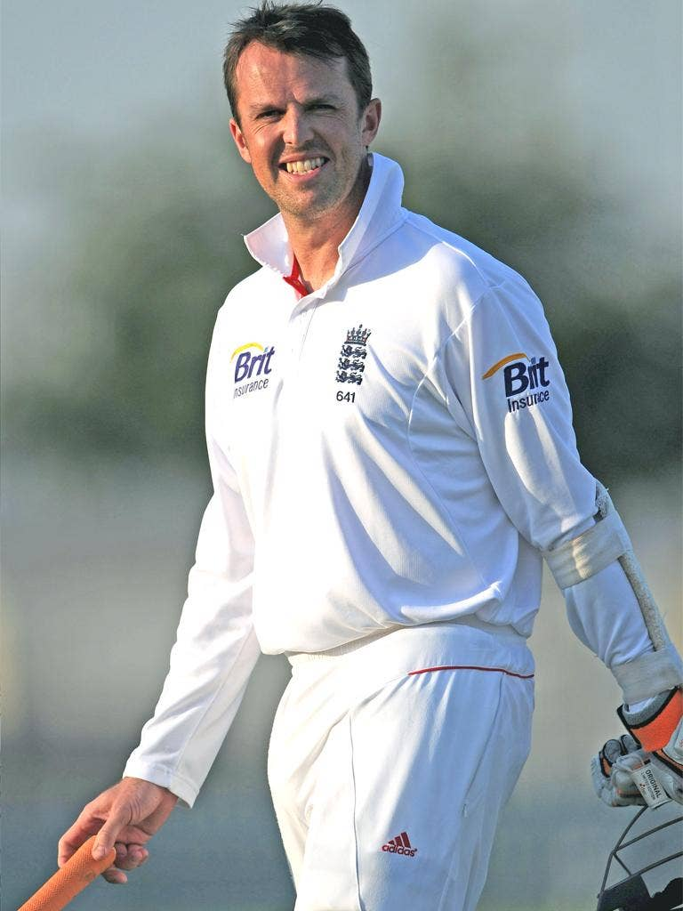 England spinner Graeme Swann went for a scan yesterday