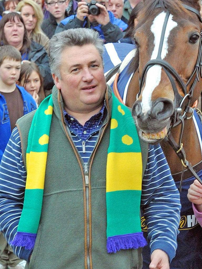 Paul Nicholls has Kauto Star in line for the Gold Cup