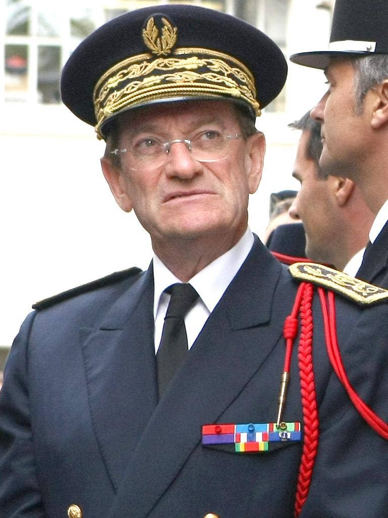 Michel Gaudin, the Paris police chief, has been questioned