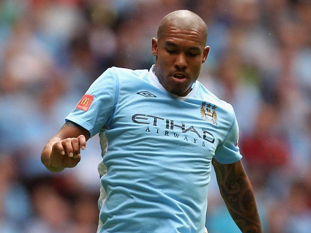 <b>Nigel de Jong</b><br/>  Seemed to be struggling with the pace of a game that wasn't exactly bursting out of the traps. Played in slow motion. 4