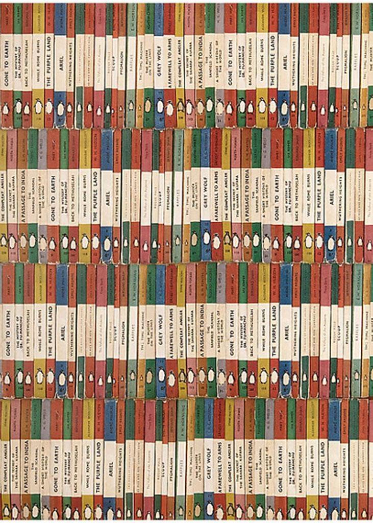 Penguin Books-themed sheet, £1.75, nottheusual.co.uk