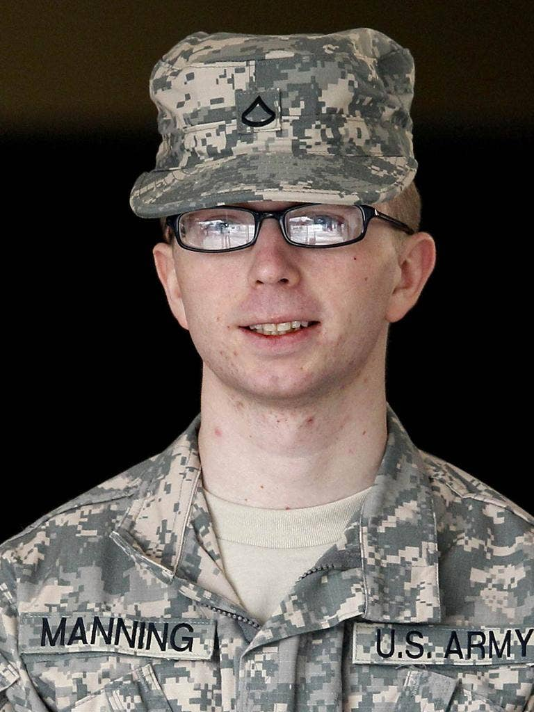 Bradley Manning allegedly gave secret documents to the WikilLeaks site