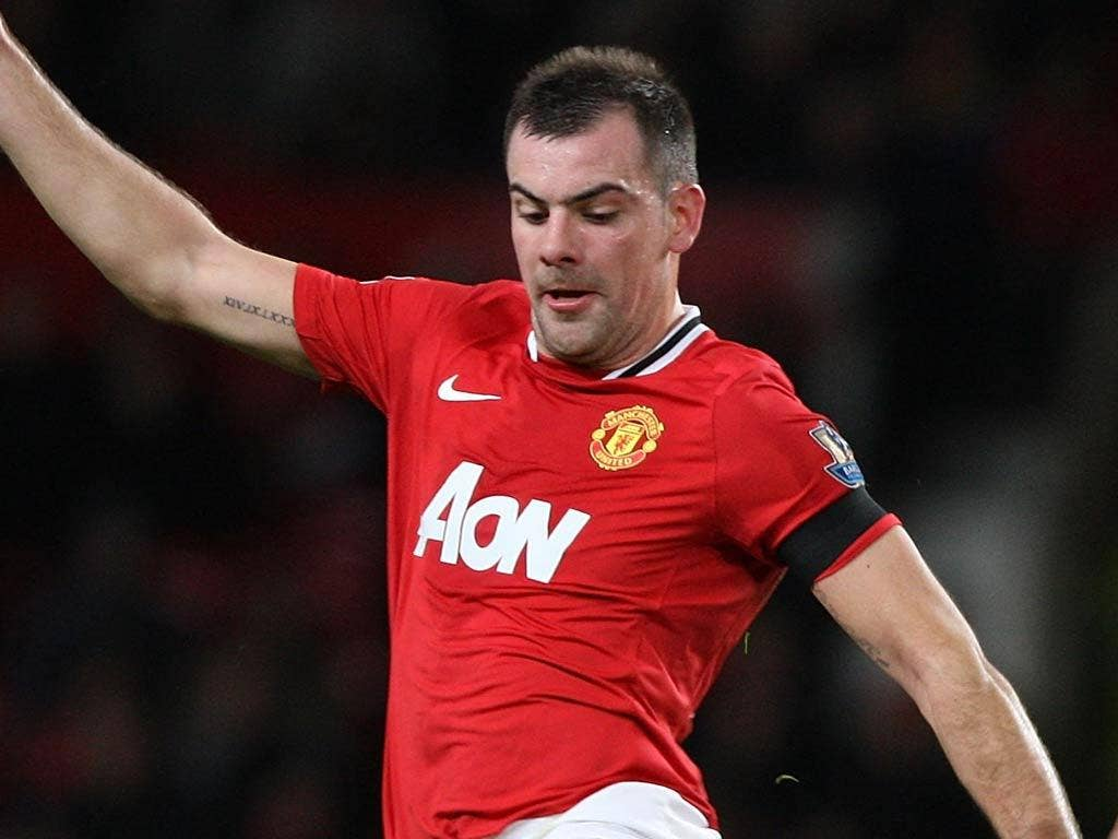Darron Gibson failed to ever cement a place in the United side