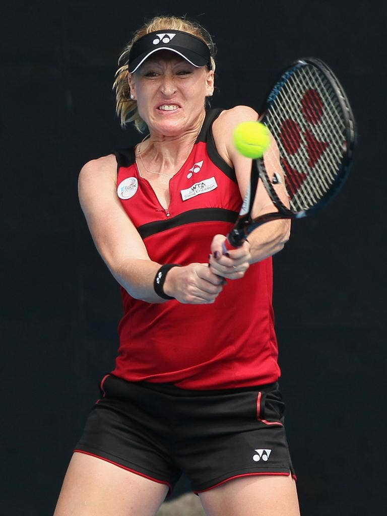 Elena Baltacha: Britain's No 1 could meet Kim Clijsters in the second round in Melbourne