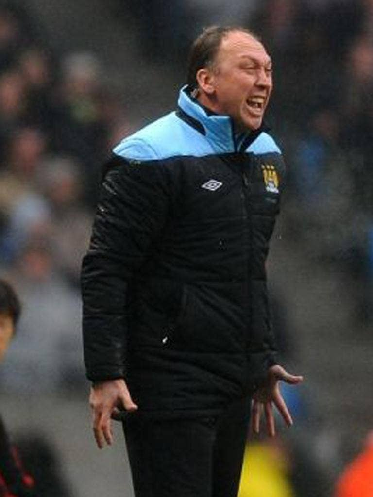 David Platt: Manchester City's assistant manager denied recent results had hit morale