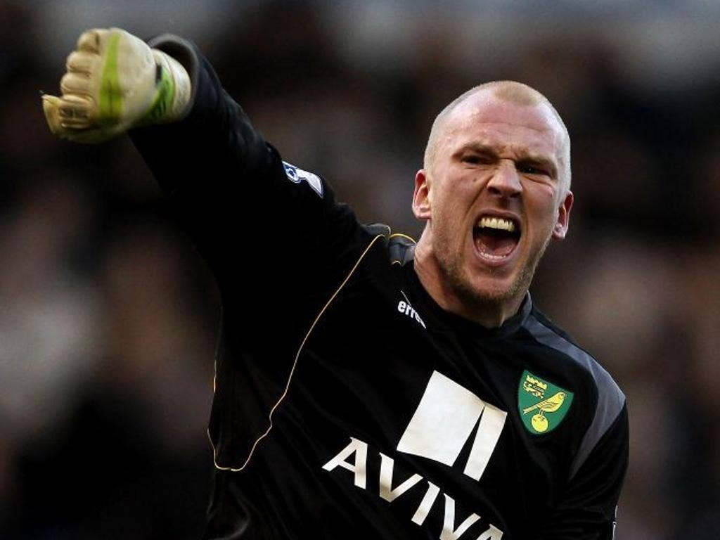 John Ruddy (pictured). The Norwich goalkeeper said: 'The manager won't allow us to think about safety'