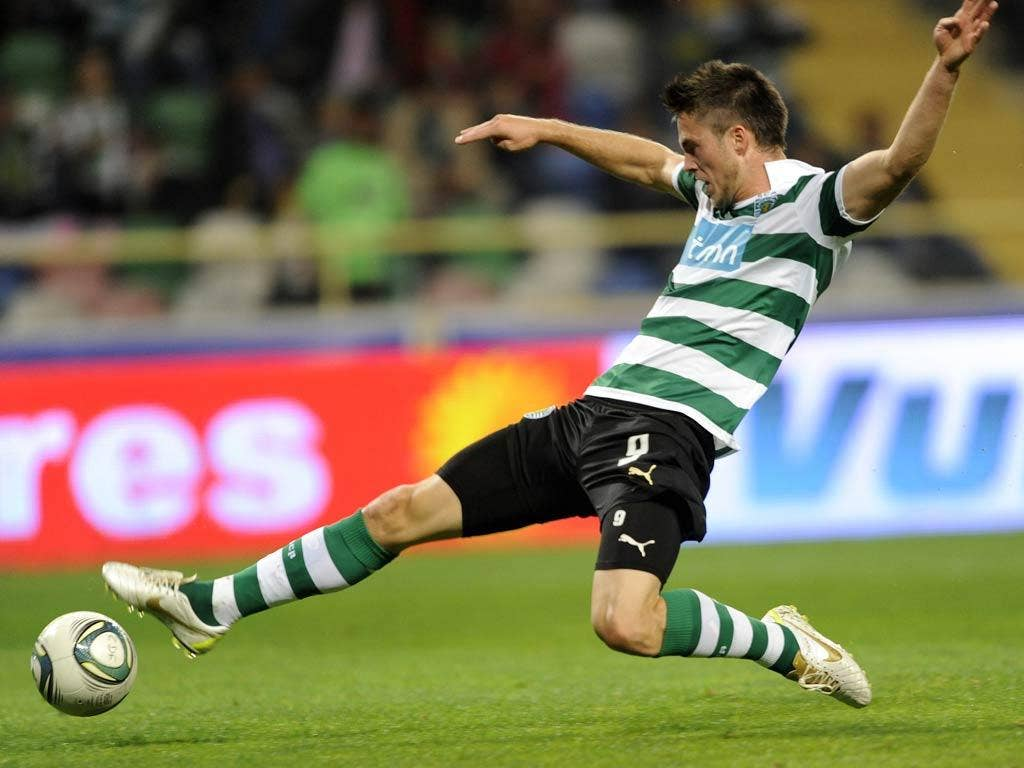 <b> Ricky van Wolfswinkel</b> Ricky van Wolfswinkel only joined Sporting Lisbon in the summer but his impressive displays for the Portuguese outfit have seen him linked with a quick departure. Valued at around £11m, its rumoured Ferguson will be tempted t