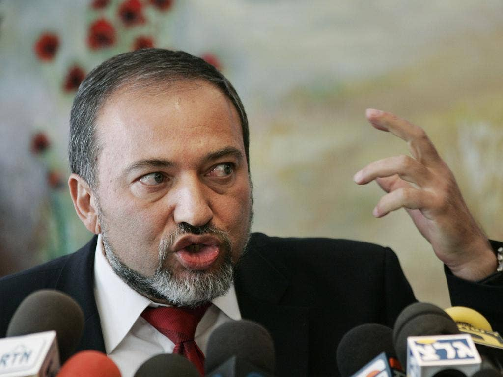 Foreign Minister Avigdor Lieberman faces charges of money-laundering