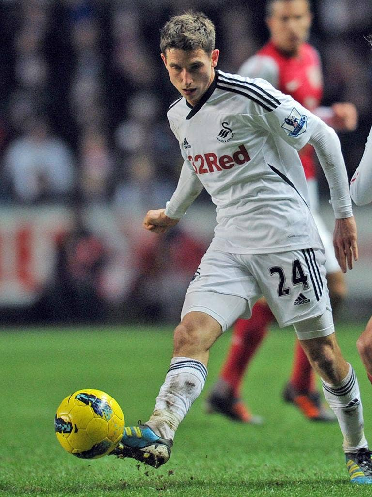 Joe Allen: The Swansea City midfielder has been closely watched by Liverpool since September