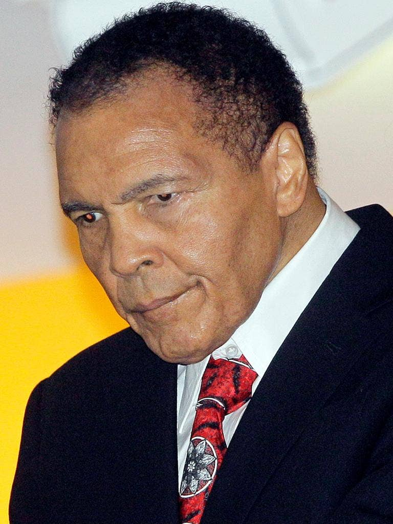 Muhammad Ali has been battling against Parkinson's for 18 years