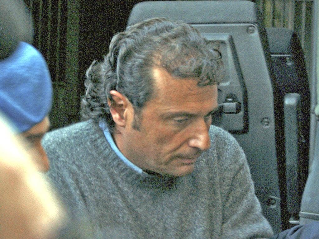 Francesco Schettino, the captain of the Costa Concordia, leaves court in Grosseto yesterday