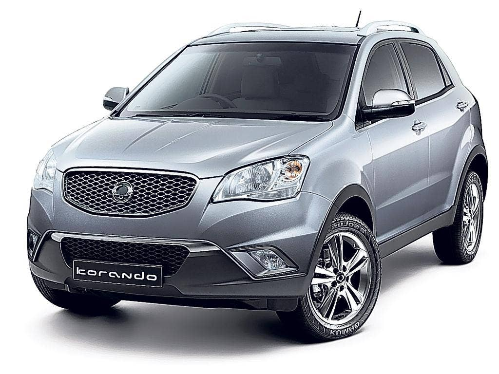 The new Korando by SsangYong
