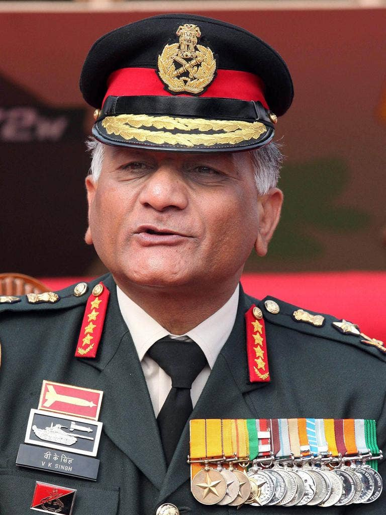General VK Singh has appealed to the Supreme Court to declare that he is a year younger - at 61 - than the government maintains