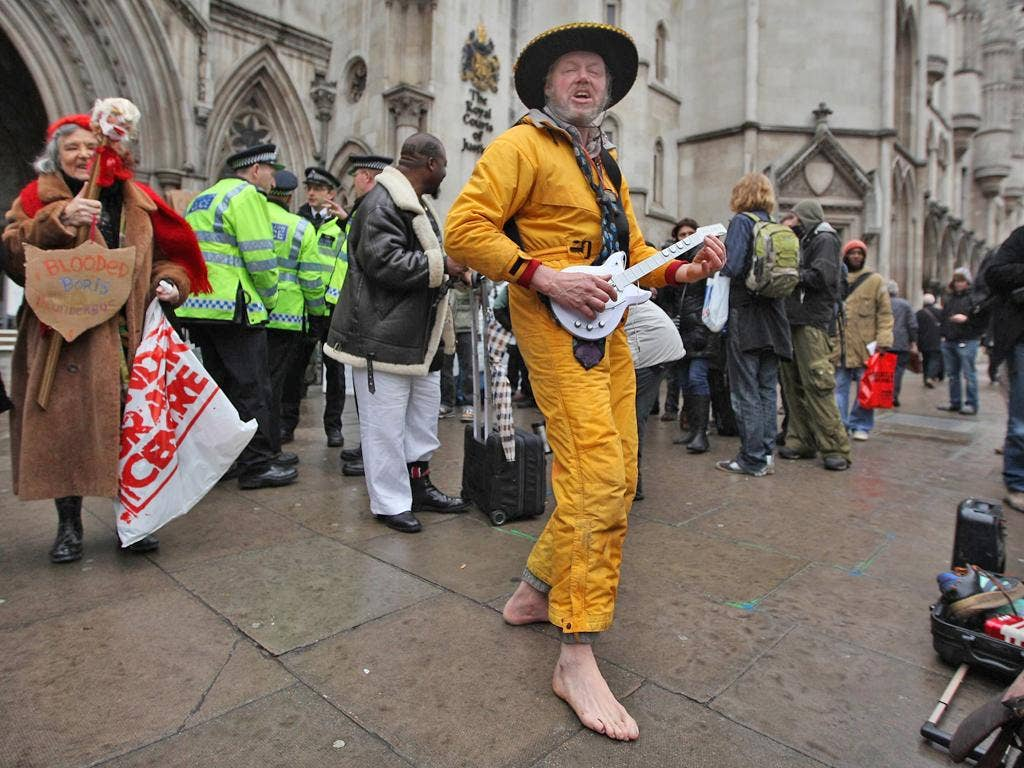 Lawyers for the Occupy London protesters are appealing