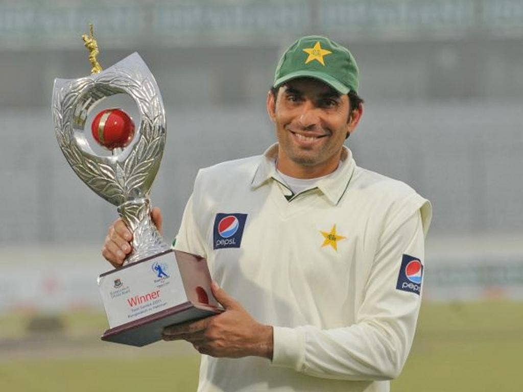 Misbah-ul-Haq, Pakistan captain: 'We had not expected it to be so easy for us, but England can come back at any time'