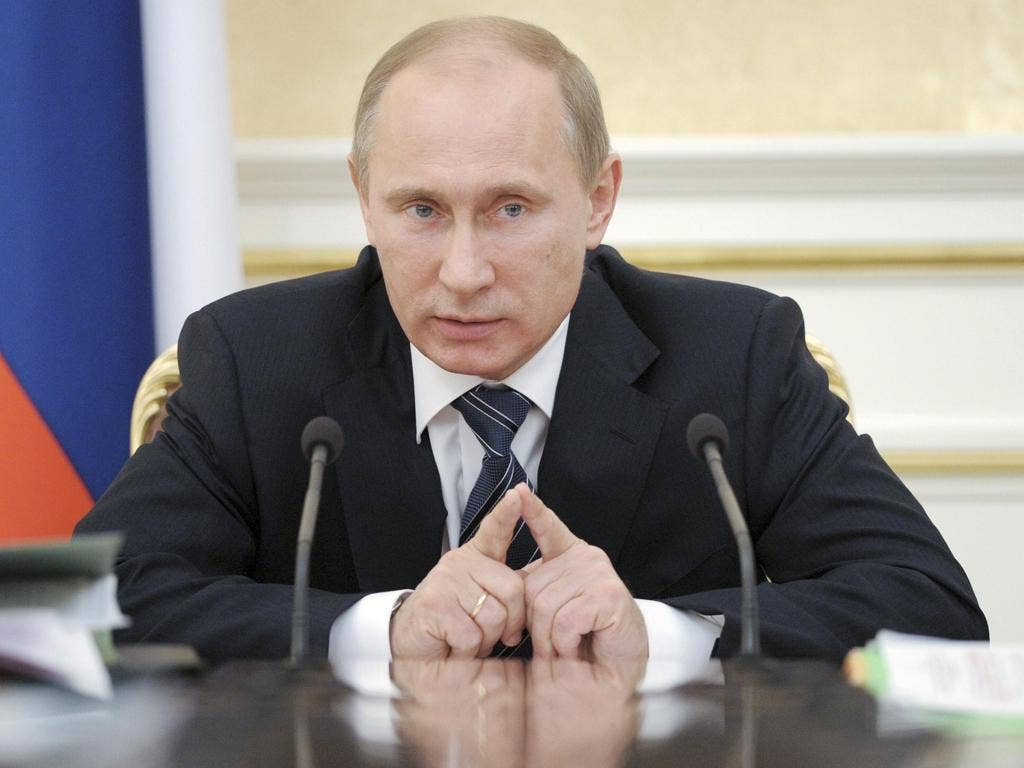 Vladimir Putin: 'This isn't news, this is serving the foreign policy interests of one state with regard to another'