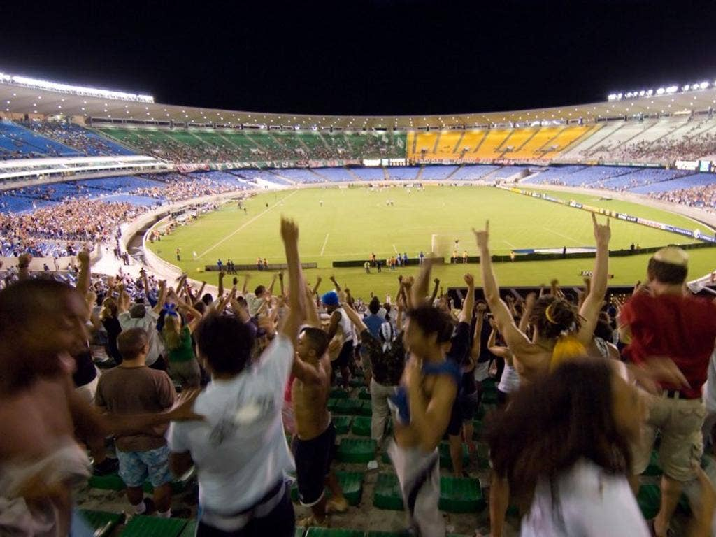 Alcoholic drinks were banned at all of Brazil's stadiums in 2003