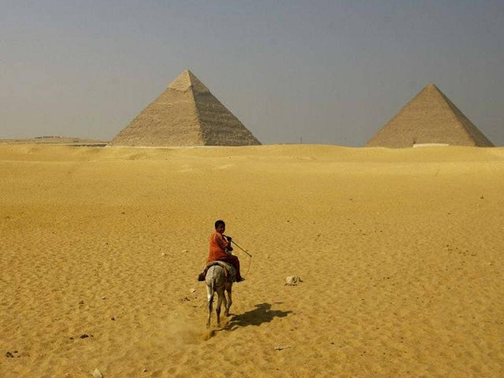 Pointblank: there is a yawning emptiness at Egypt's tourist sites