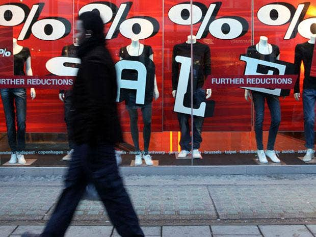A raft of high street promotions helped retail sales volumes grow last month