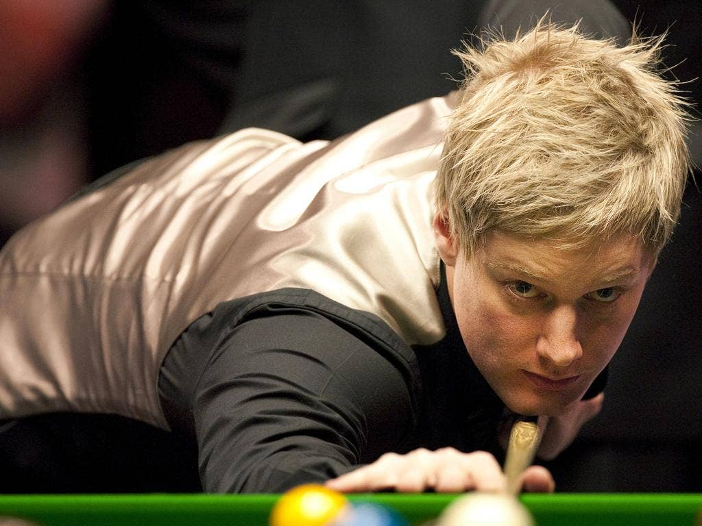 Neil Robertson of Australia