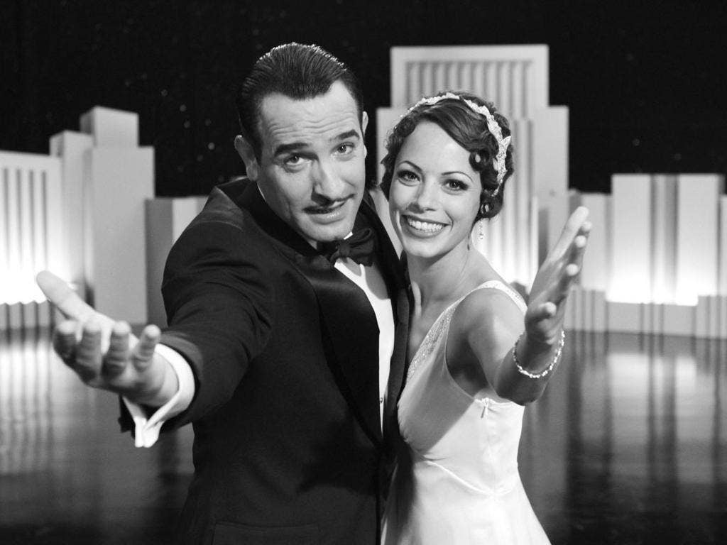 Jean Dujardin and Bérénice Bejo are captivating in The Artist