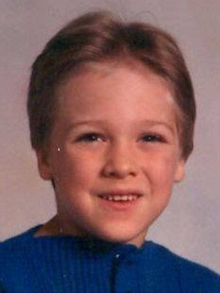 Elizabeth Watkins has been cleared of killing her son Nicholas Loris (pictured) who died 25 years ago