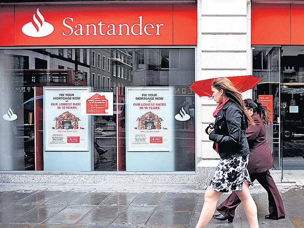 Santander's move may be followed by other banks