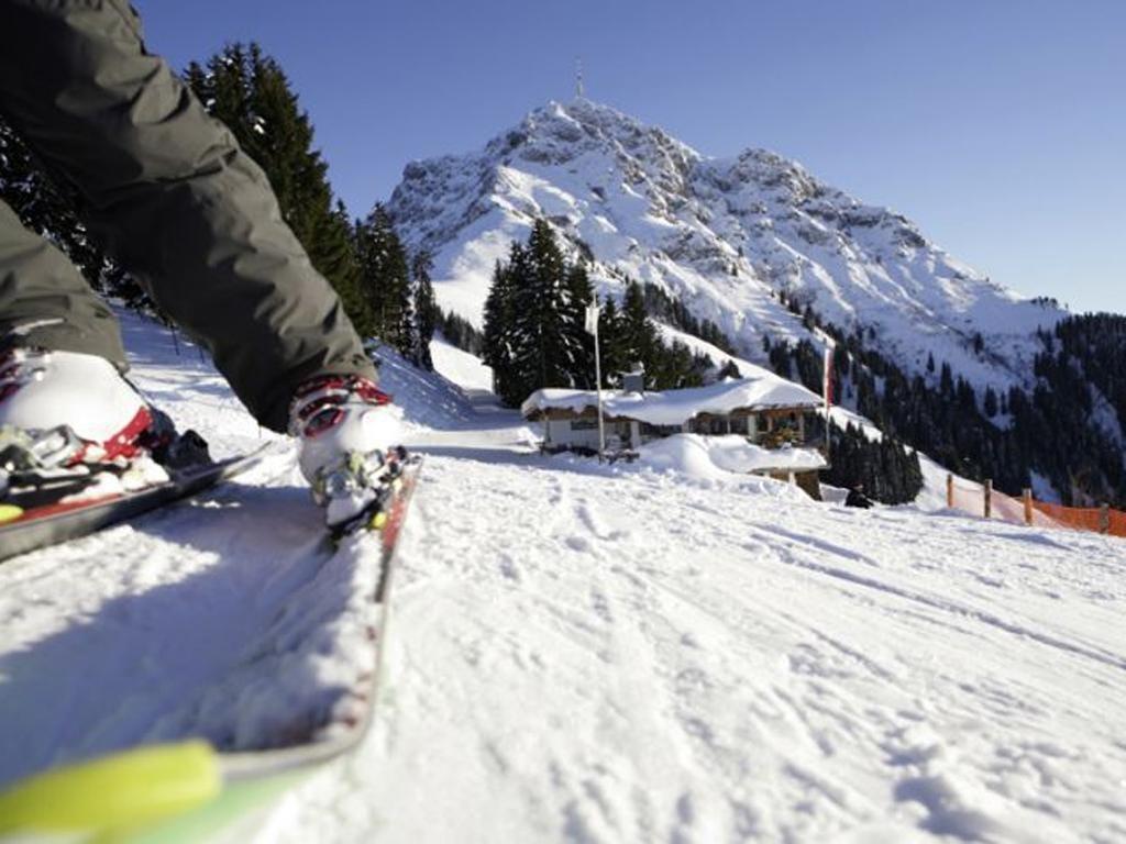 Peak condition: The charming Austrian resort of St Johann