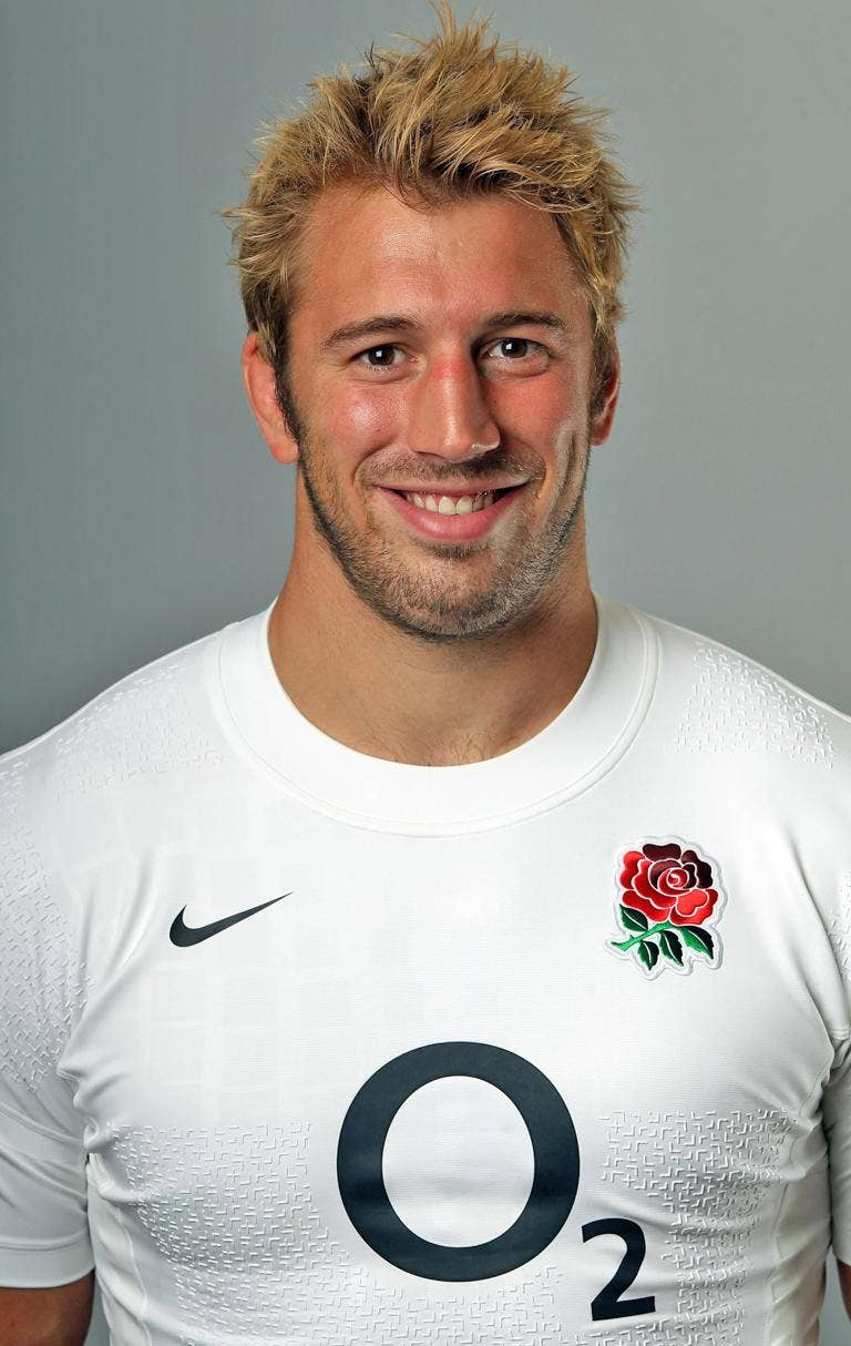 Skip hired: Chris Robshaw will lead England in Scotland