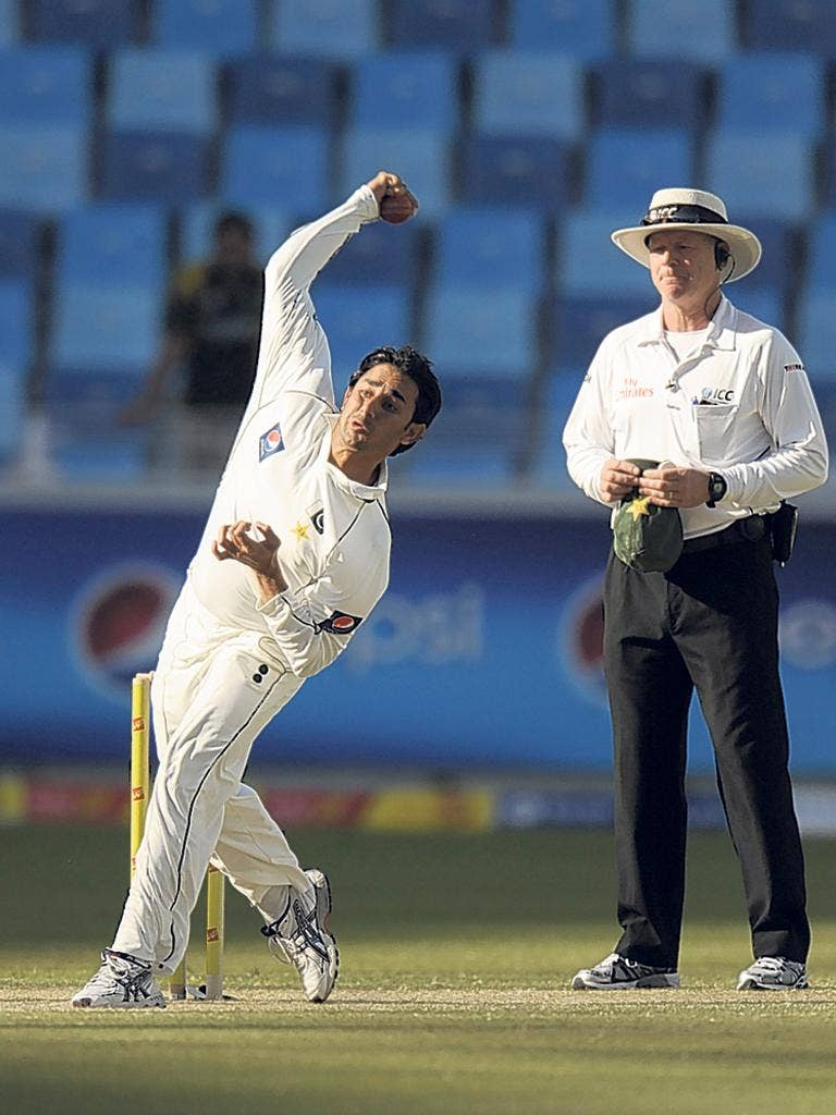 Saeed Ajmal's figures of 10 for 97 in the First Test give Pakistan the early advantage